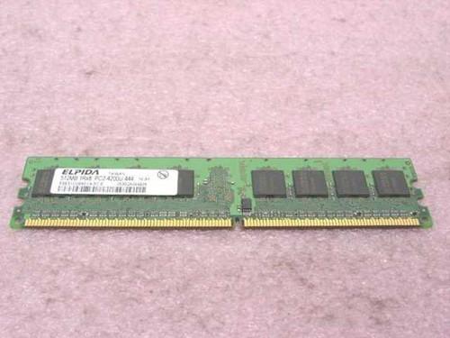 Elpida PC2-4200U-444  512MB Memory