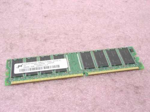 Micron MT8VDDT3264AG-40BC4  256MB Memory