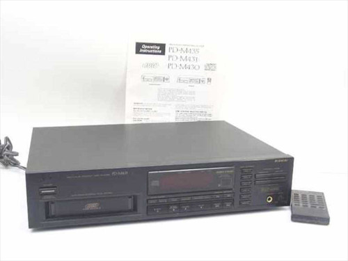 Pioneer PD-M435  Multi-Play Compact Disc Player w/remote