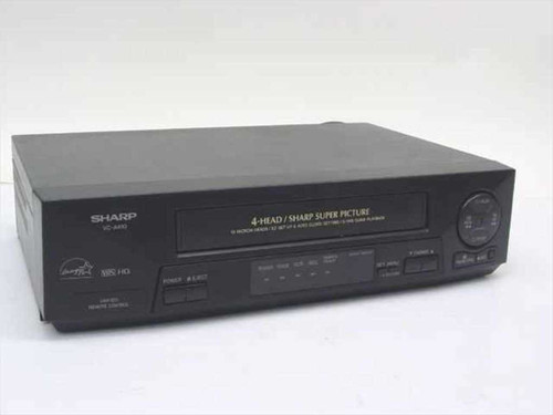 Sharp VC-A410  4-Head VCR, no remote