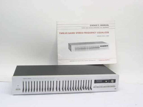 Realistic 31-2009  Twelve Band Stereo Frequency Equalizer