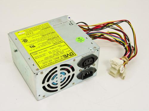 DVE DSP-1514P  150 Watt AT Power Supply