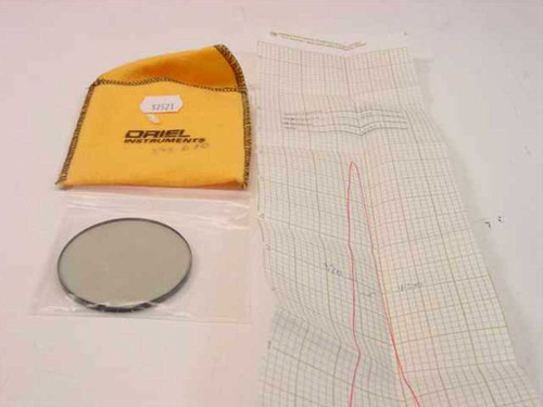 Oriel Instruments 57521  395 nm Narrow band Filter 2 Inch Diameter