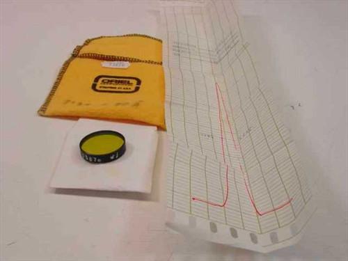 Oriel Instruments 53870  520 nm Narrow band Filter 1 Inch Diameter 10BPF10-