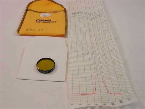 Oriel Instruments 53875  530 nm Narrow band Filter 1 Inch Diameter 10BPF10-