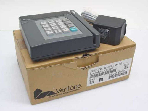 Verifone Tranz 330  VeriFone Transaction Card Reader w/AC Adapter