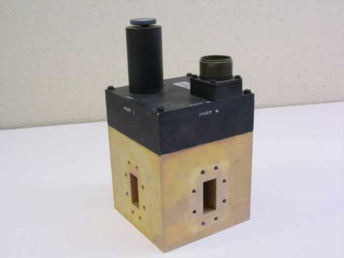 Neico Microwave Co. 19445-11  Wave Guide Switch WR137/RG50 4 Ports ~V