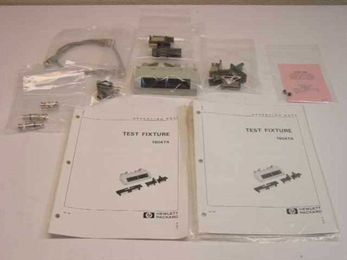 HP 16047A  Test Fixture w/ Accessories