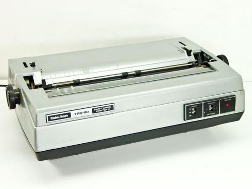 Radio Shack TRS-80  Daisy Wheel Printer II with 20 Prestige Printwheel