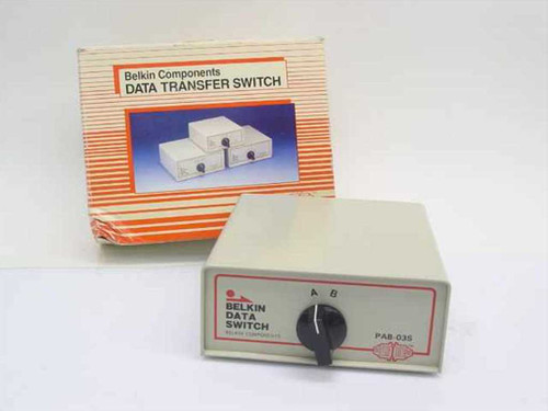 Belkin PAB-03S  2 Way Centron Data Transfer Switch