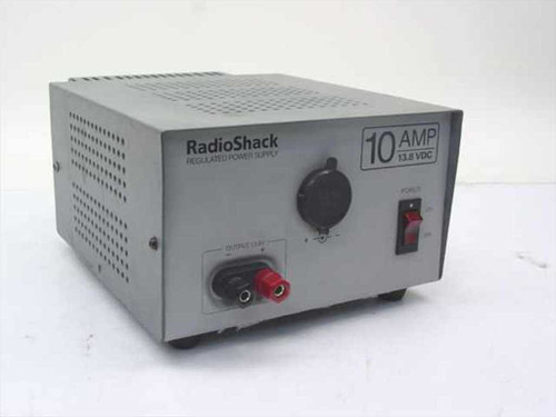 Radio Shack 22-506  10 AMP 13.8 VDC Regulated Power Supply AS IS
