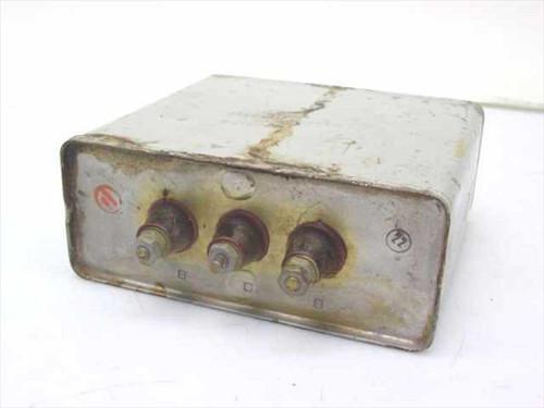 Sprague 2X8.5 MFD  1000 VDC Dual Capacitor