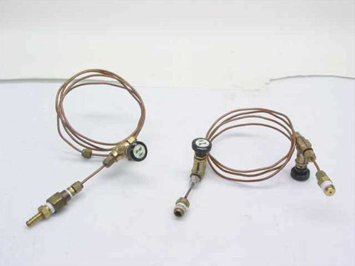 Nupro Co. N/A  2 Capillary Copper Tubes with Needle Valves