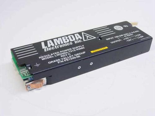 Lambda Electronics PE1240-00  Regulated Power Supply 12 Volt 2.0 Amps