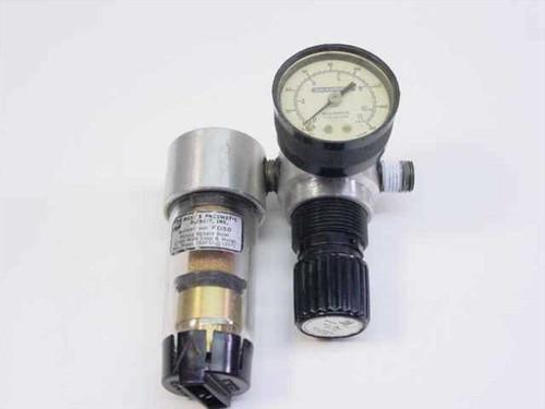 Master Pneumatic R-50-FD50  Compressed Air Filter Regulator !/4Npt Inlet/Outle