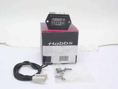 Hobbs 85094-12  Hour Meter 9999 HR, Flange MT