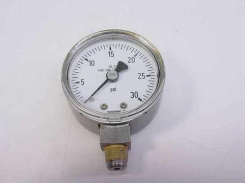 Wkia 0-30  Stainless Steel Low Pressure Gauge