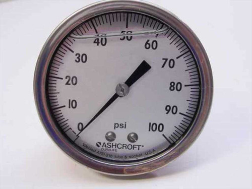 Ashcroft Q8962  Stainless Steel Glycerin-Filled Gauge