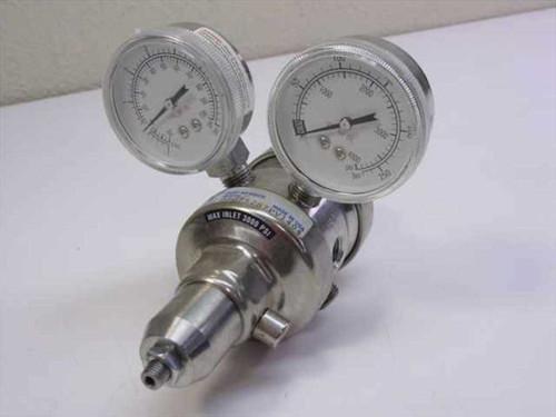 Veriflo DSG752S-7P404  Stainless Steel High Pressure Regulator