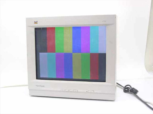 "Viewsonic VCDTS21529-1M  17"" Color Monitor A75F"
