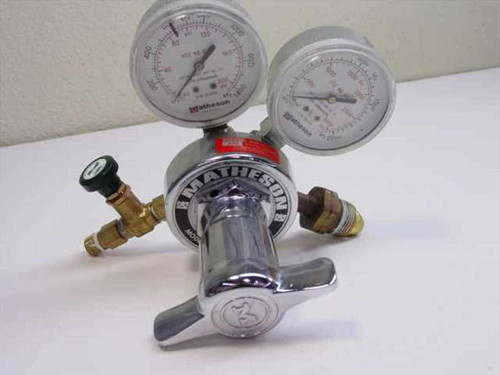 Matheson 1H-590  Brass High Pressure Regulator