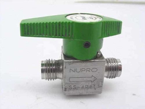 Nupro SS-4P4T  Stainless Steel Valve