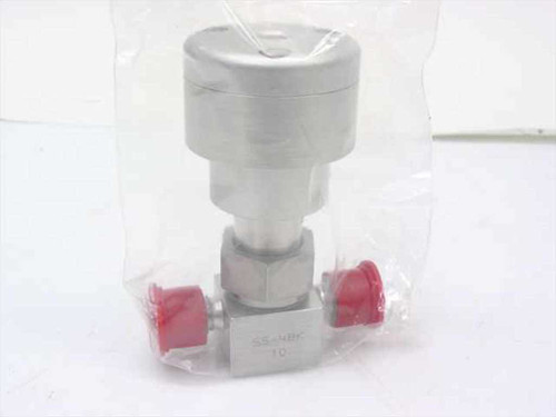 Nupro SS-4BK-10  Stainless Bellows Valve 1/4 in Tube Fitting Normal