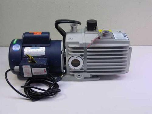 LEYBOLD D16AC  Trivac Vacuum Pump and Motor