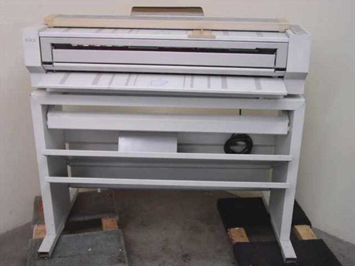Xerox 2510  Engineering Copier Machine Wide Format with Stand (Need to repair or parts)