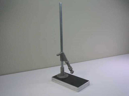 Aluminum 58cm High  Stand with 14x27 cm Base Plate with Holder