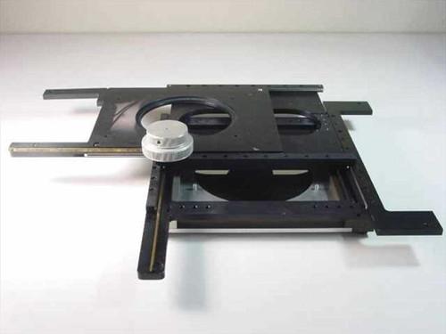 Custom X-Y  Stage W/ Reflector on Bottom