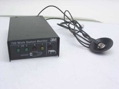 3M 722  ESD Workstation Monitor No Ac Adapter