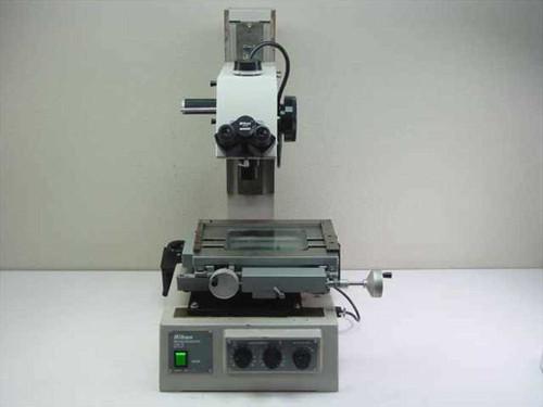 Nikon Measurescope 20  Trinocular Microscope