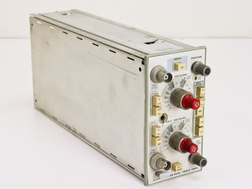 Tektronix 5A18N  Dual Trace Amplifier Plug-in