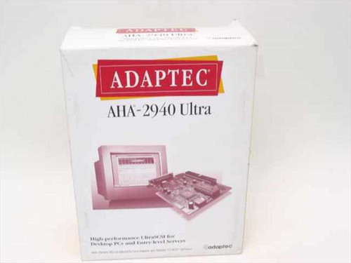 Adaptec AHA-2940AU  PCI-to-UltraSCSI Host Adapter and EZ-SCSI Software