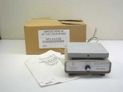 Thermolyne HP11515B  Explosion-Proof Hot Plate