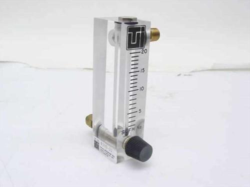 Terra Universal 1600-32  0-20 SCFH N2 Flowmeter