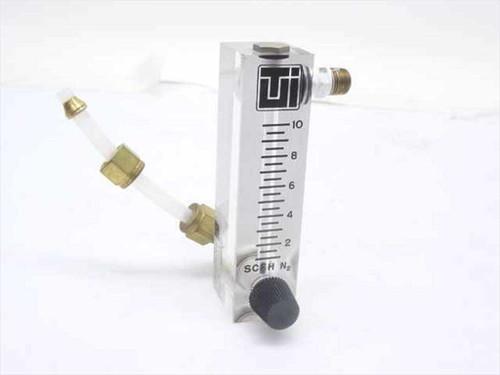 Terra Universal 1600-31  0-10 SCFH N2 Flowmeter