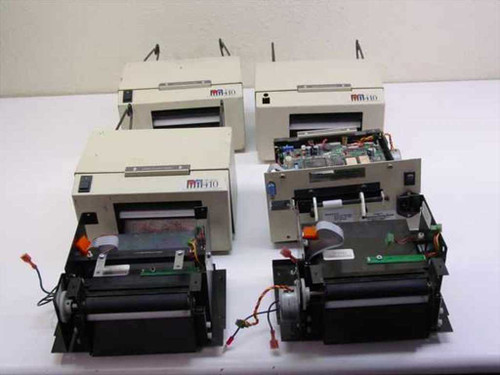 Microcom M-410  Direct Thermal Label Printer Lot of 6 for Parts