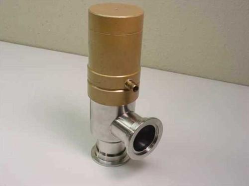 Huntington Mechanical Laboratories PV-150-SF  Right Angle Pneumatic Elastomer Sealed Valve