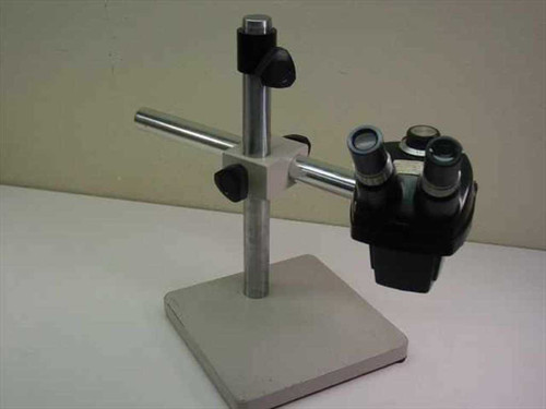 Bausch & Lomb 7X-30X  Stereo Microscope with Boom Stand