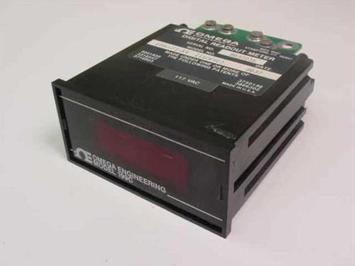 Omega Engineering 199C-F1-XX  Digital Readout Meter 110VAC