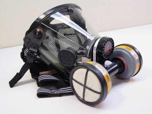 Scott 121897  Air Filter Mask with 642-OA cartridges