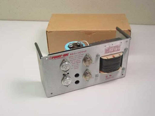 Power One RD5-15/OVP  5 Volt 15 Amps DC Power Supply