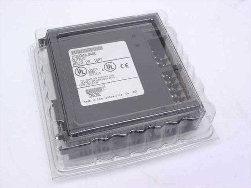 GE Fanuc IC693MDL940E  Output Relay 16 Point 90/30