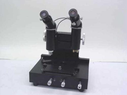 Custom  Comparative   Comparison Microscope - 20X W.F E.P with Crosshair
