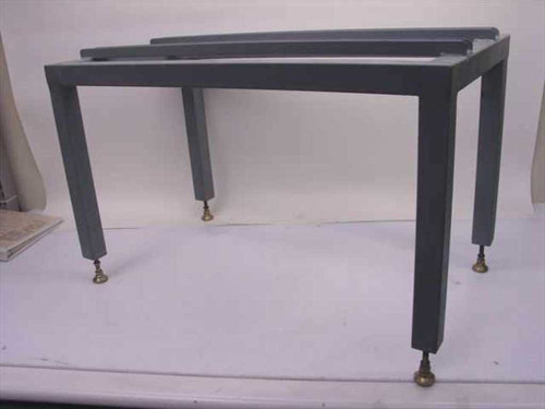 Steel 16 x 29  Tech Bench Table Base with Channel Rails