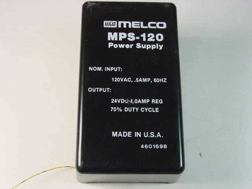 Augat Melco MPS-120  Power Supply 24 VDC 1.0 A 70%25 Duty Cycle