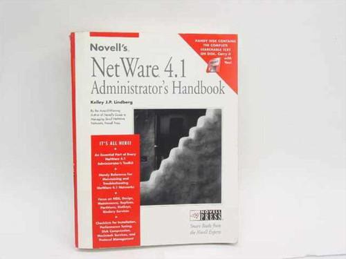 Lindberg, Kelley J.P. Novell's NetWare 4.1  Administrator's Handbook