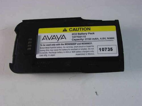 Avaya 107733115  2C2 Battery Pack Capacity 2150 mAh, 4.8V, NiMH
